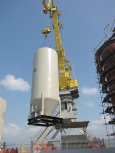 Offshore Silo Installation