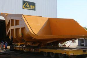 Mining Truck Trays